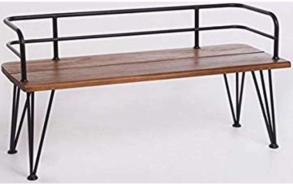 Christopher Knight Home Zion Outdoor Industrial Acacia Wood Bench