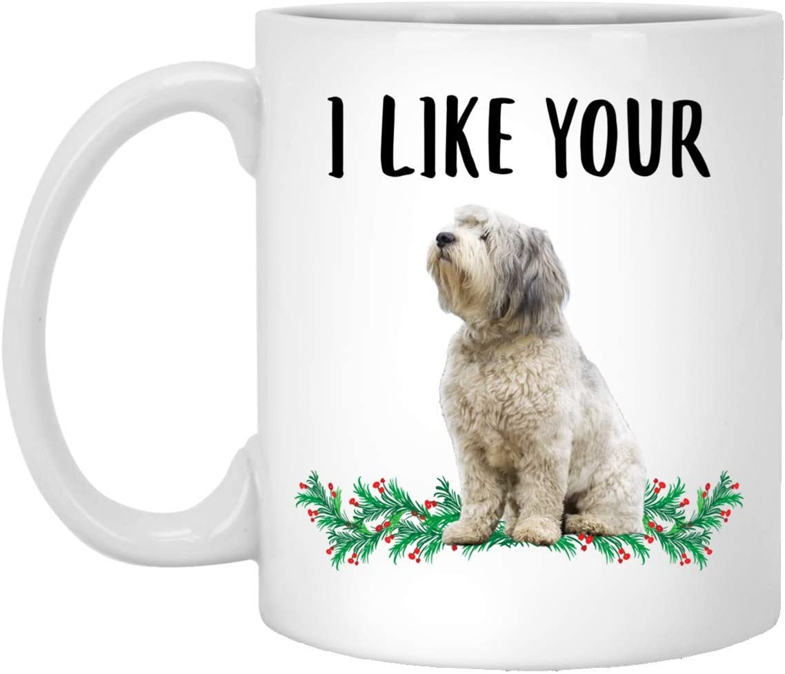 Funny I Like Your Polish Lowland Sheepdog Cream Grey Mug White Coffee Mug 11oz