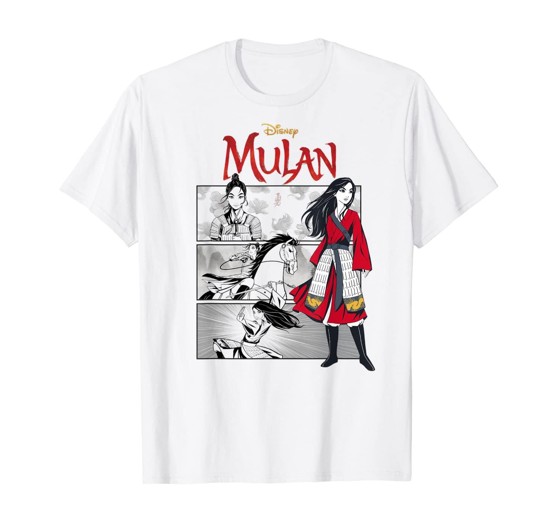 Disney Mulan Live Action Comic Panels T-Shirt