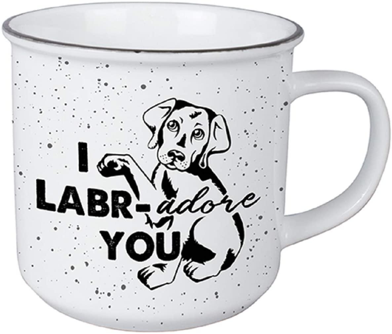 Carson 23584 Lab Vintage Mug, 13-ounce