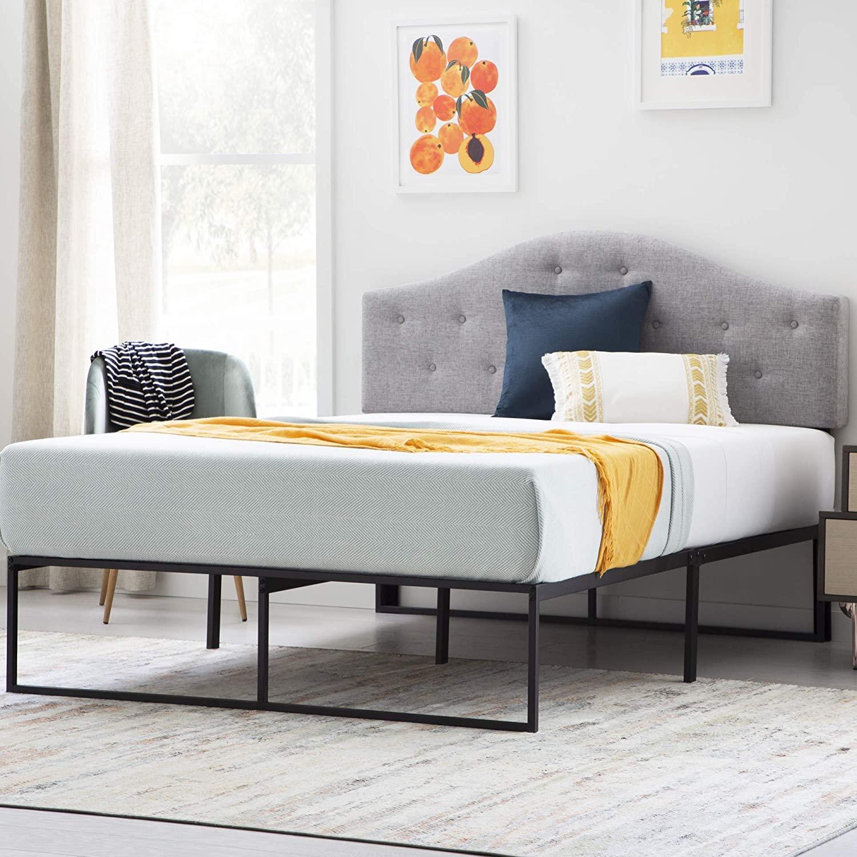 LinenspaContemporaryPlatform Bed Frame