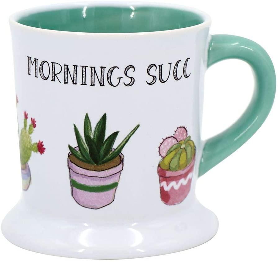 DEI 13303 Succulent Mug,20 Ounce
