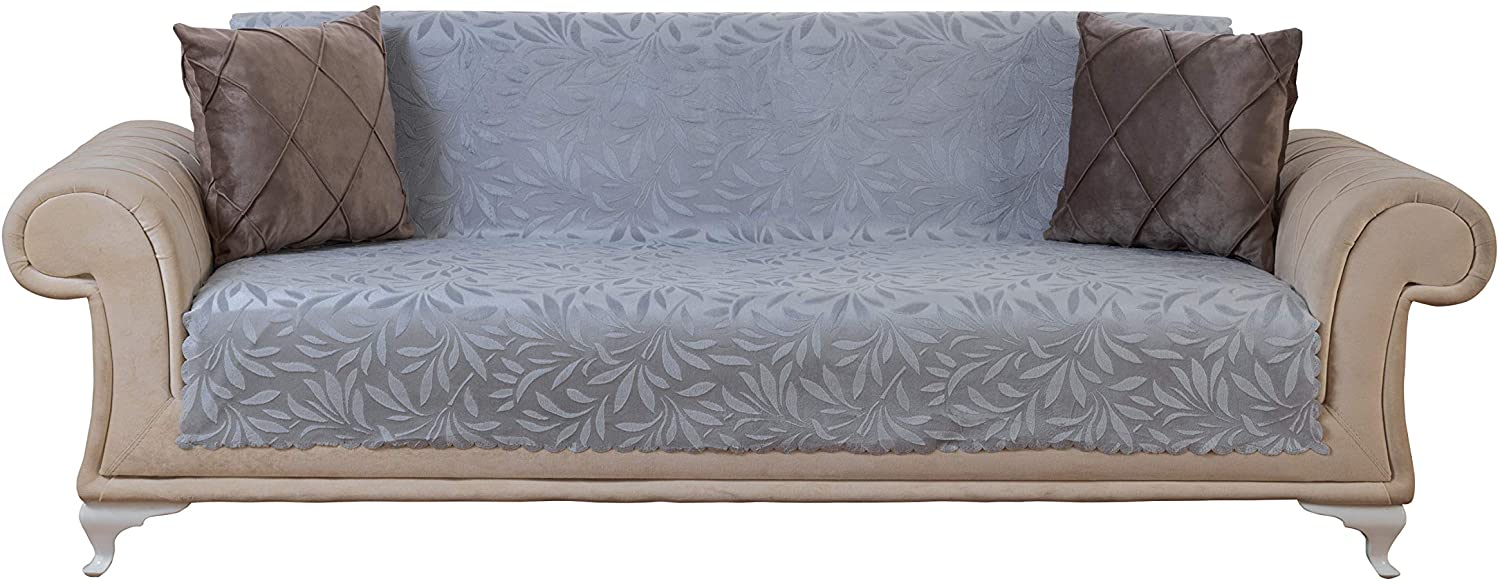 Chiara Rose Couch Covers for Dogs Sofa Cushion Slipcover 3 Seater Furniture Protectors Futon Cover, Sofa, Acacia Grey