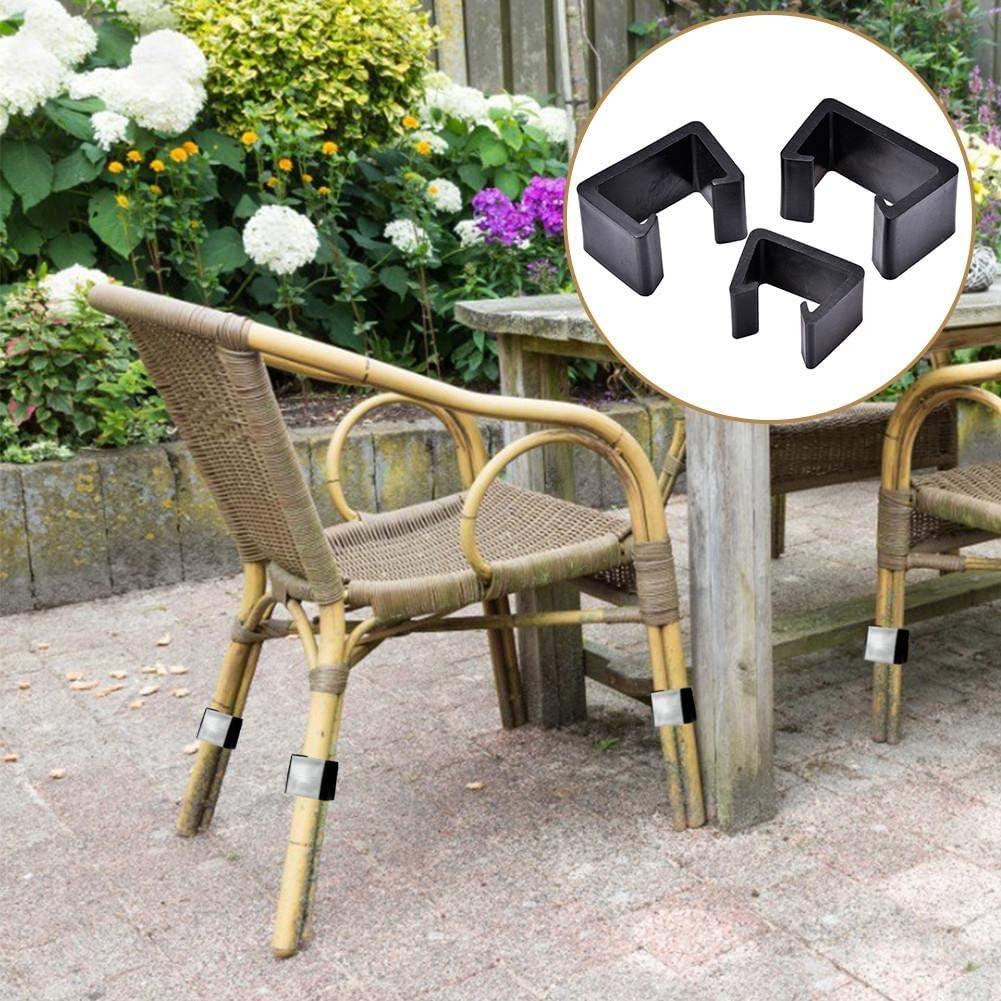 Furniture Fasteners Clip Outdoor Patio Wicker Furniture Clips 8PCS Sectional Sofa Rattan Durable Heat Resistant Furniture Clips Chair Fasteners for Garden Sofa
