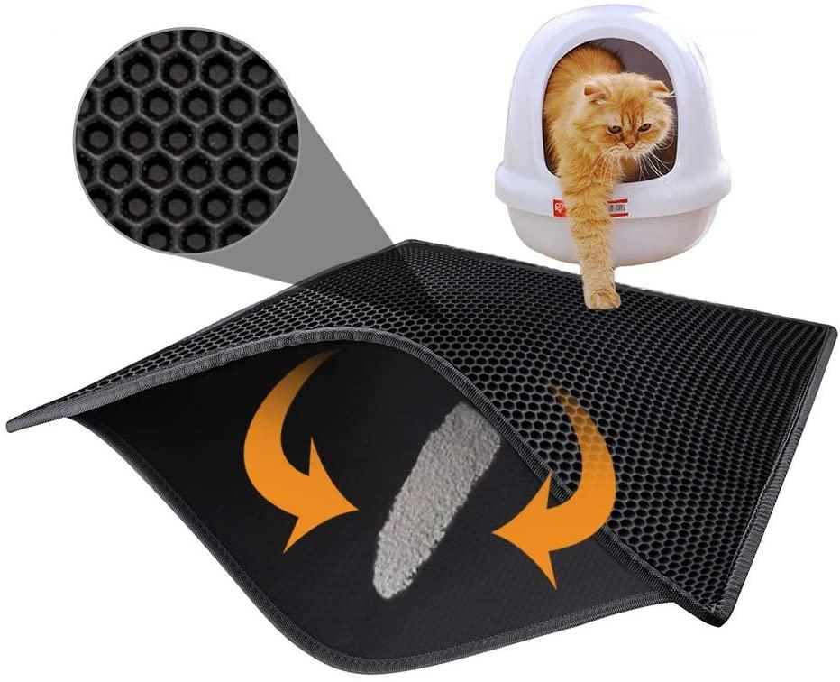 Pieviev Cat Litter Mat-Super Size