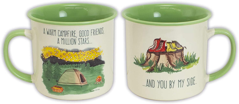 Cathedral Art Warm Campfire Mug, Multicolored