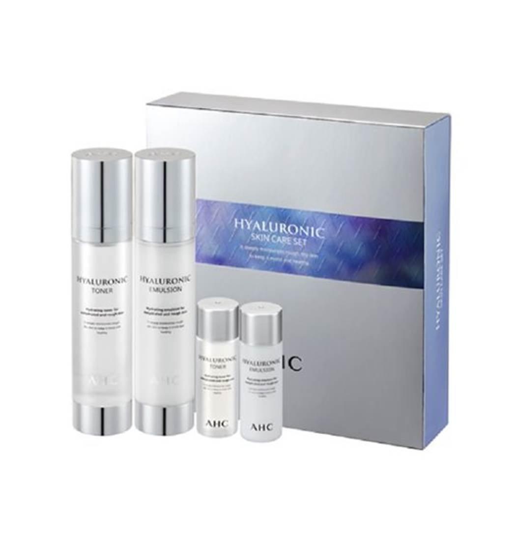 AHC [A.H.C] Hyaluronic Skin Care 2 Set (Toner + Emulsion)