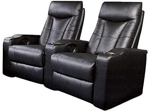 Coaster Home Furnishings Home Theater Seating, black