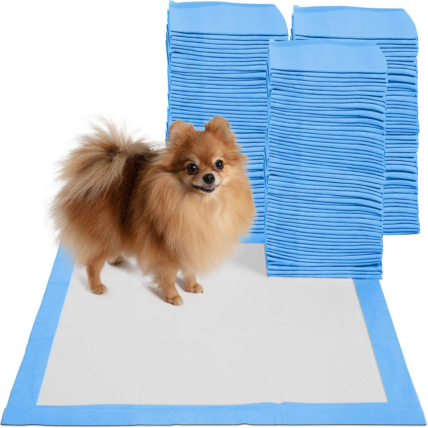 Puppy Pads Dog Pee Pad for Potty Training Dogs & Cats Large 22 x 22 Doggy Pet Supplies for Puppies All Absorb-ent Disposable Doggie in-Doors Piddle Absorbent Leak-Proof Urine Holder