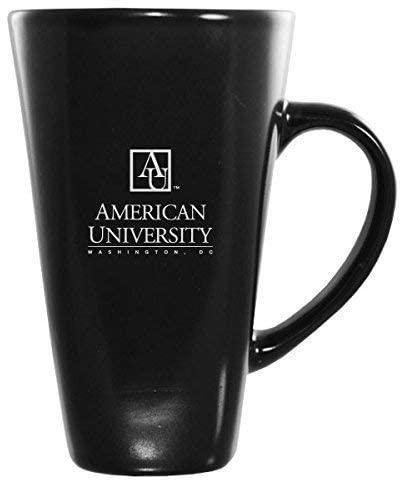 American University -16 oz. Tall Ceramic Coffee Mug-Black