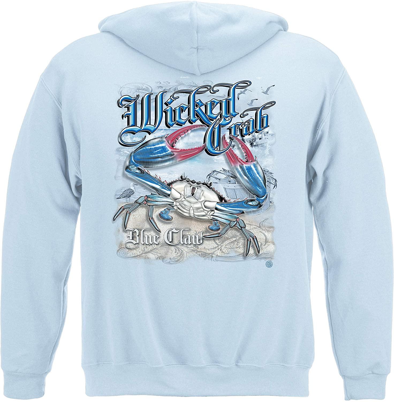Erazor Bits Wicked Crab Hooded Sweat Shirt WF110SW