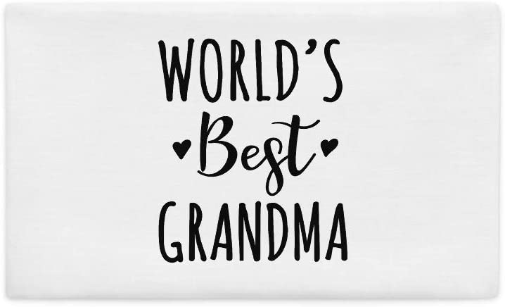 Worlds Best Grandma Cute Grandparent All-Over Print Premium Pillow Case | Worlds Best Grandma | Grandma Pillow | Gift for Grandma | Pregnancy Announcement Worlds Best Gigi
