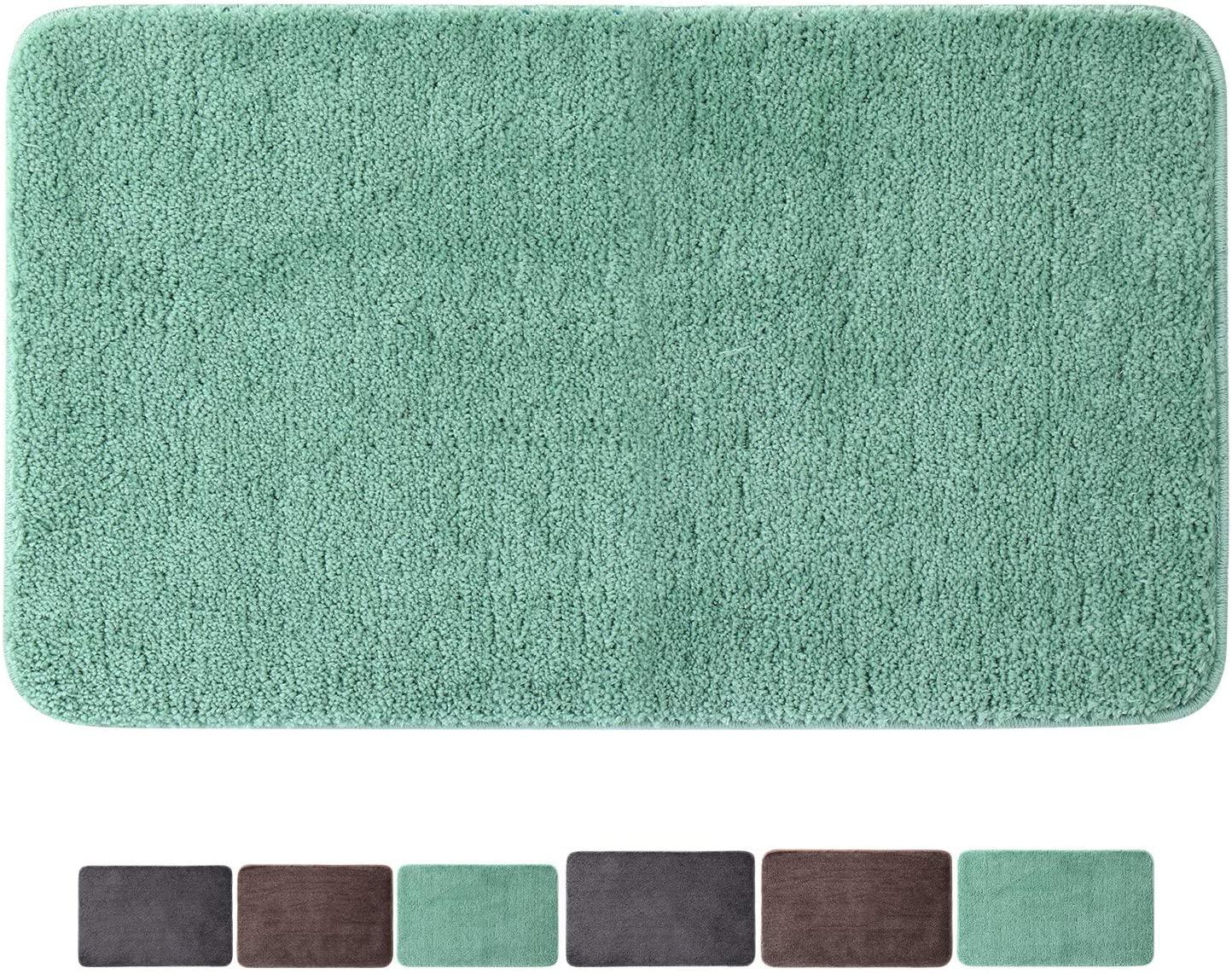 Microfiber Floor Rug Non-Slip Mats Stronger Water Absorption Machine Washable Doormats for Indoor Hotel by Bathtub Bedroom Washing Table Living Room Outside Bathroom (28