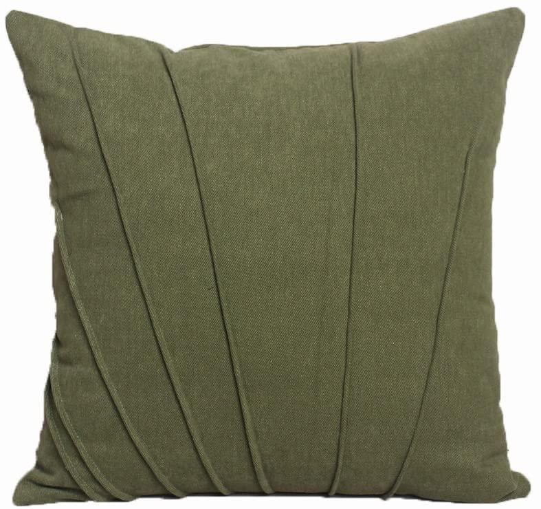 MJ DESIGN Woolen Decorativ Sofa Pillowcase Cover Throw Pillow Cover 18