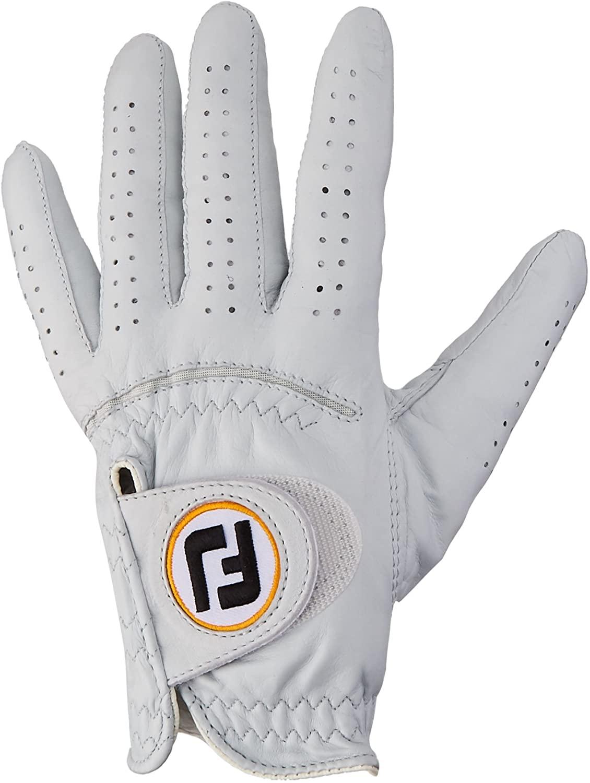 2016 FJ StaSof Golf Glove White (for the left hand) (Med. Large)