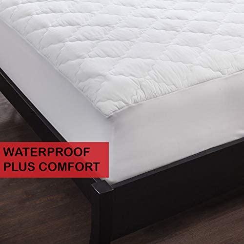 Shop Bedding Waterproof Mattress pad - Quilted, Mattress Cover, King Mattress pad