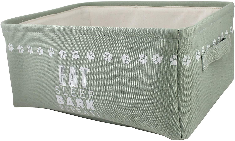 Winifred & Lily Pet Storage Bin Bone (Eat, Sleep, Bark, Repeat)