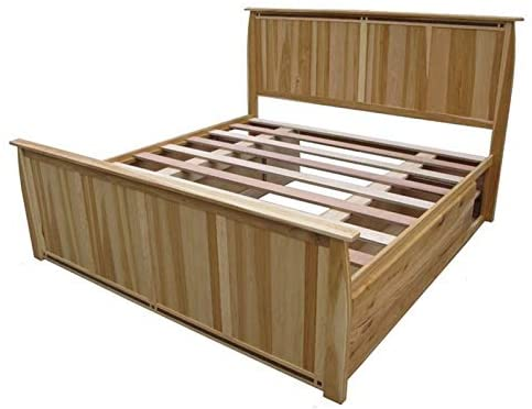 BOWERY HILL King Storage Bed in Natural
