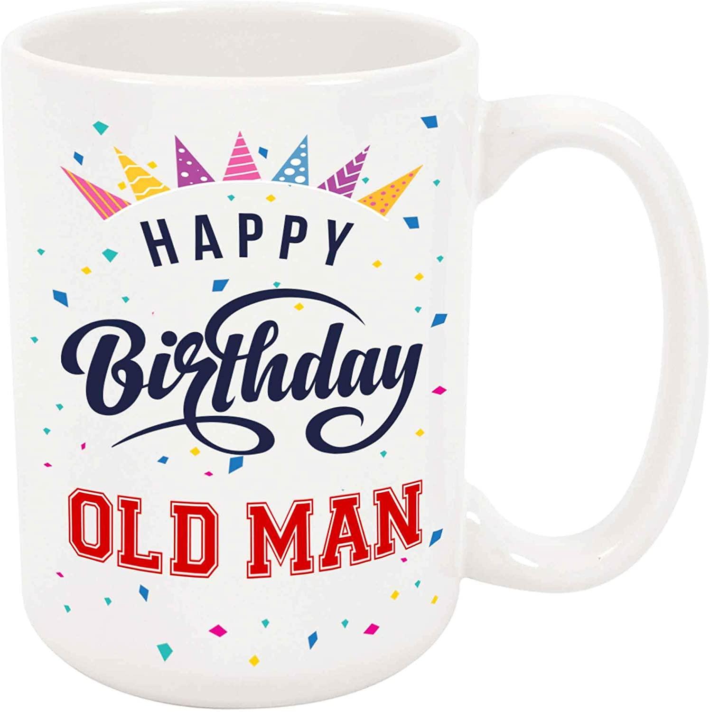Happy Birthday Old Man Coffee Mug
