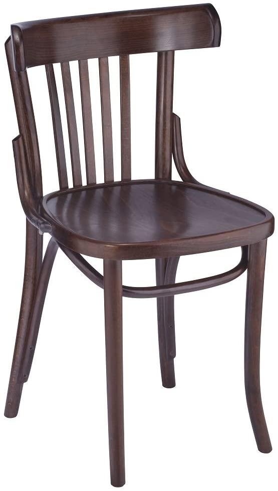 788 Wood Side Chair Mahogany