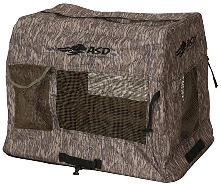 ASD Dog Supplies Avery Bottomland Camo Quick-Set Travel Kennel Medium 03821