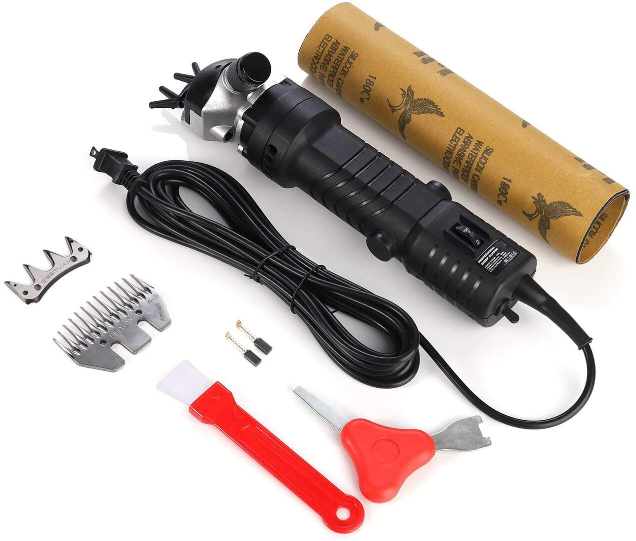 Electric Sheep Shears Goat Clippers Animal Shave Grooming Farm Pet Supplies - 220V