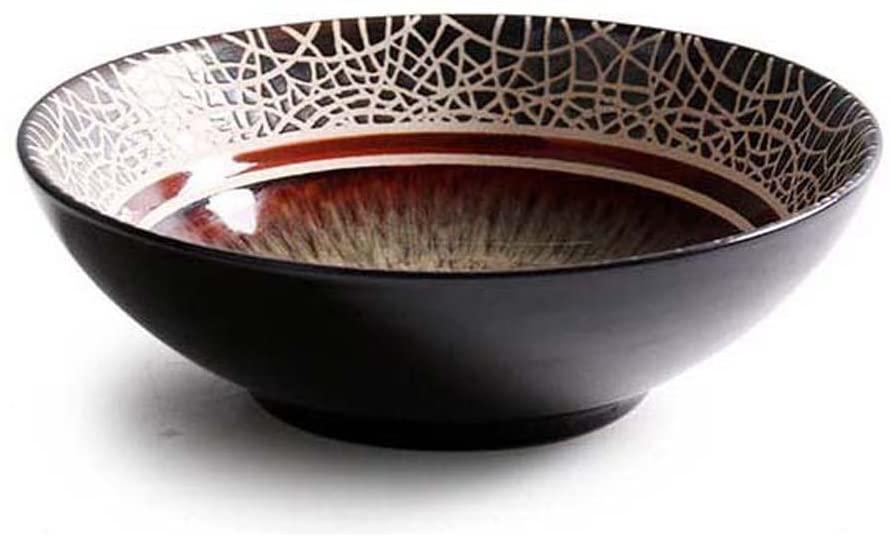Creative Ceramic Tableware, European Bowl Set, Retro Western Dish Home Cooking Dish Shallow Bowl Soup