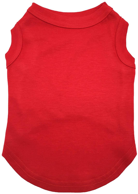 Petitebella Plain Red Puppy Dog Shirt