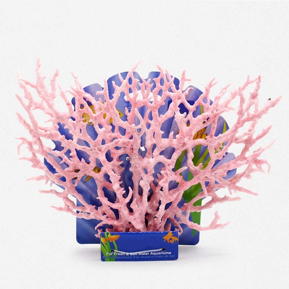 i7kbgshj Artificial Aquarium Coral Branch-Shaped Fake Coral Resin Vivid Coral Plant Ornament Colorful Fish Tank Plastic Water Plant Decor Fish Tank Landscape Decor Fake Coral Reef Decorations