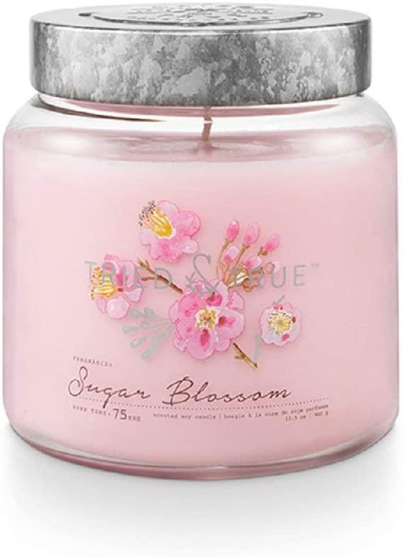 Tried & True Sugar Blossom, 15.5 oz. Candle, Pink