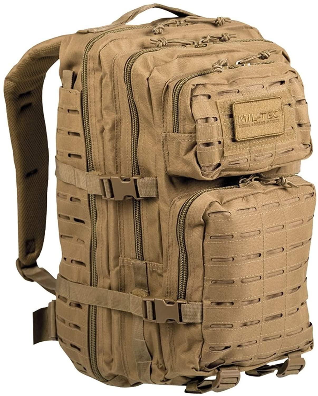 Mil-Tec US Assault Pack Large Laser Cut Coyote (14002705)