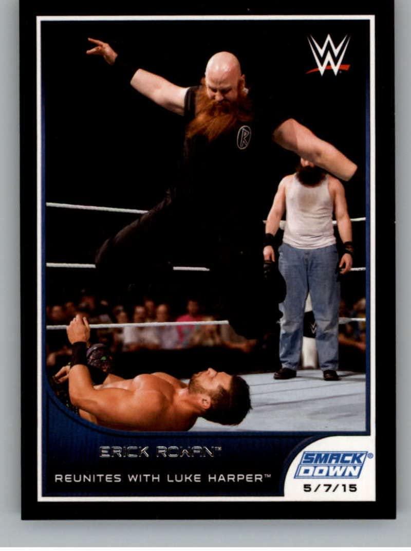 2016 Topps WWE Road to Wrestlemania #27 Erick Rowan - Challenges John Cena NM-MT
