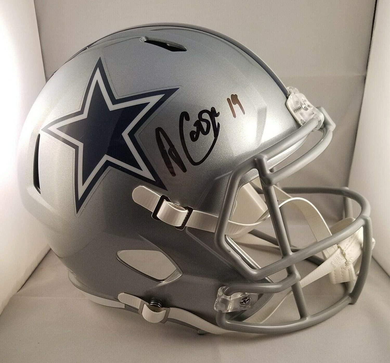 Amari Cooper Autographed Signed Full Size Speed Helmet Cowboys Beckett - Autographed NFL Helmets