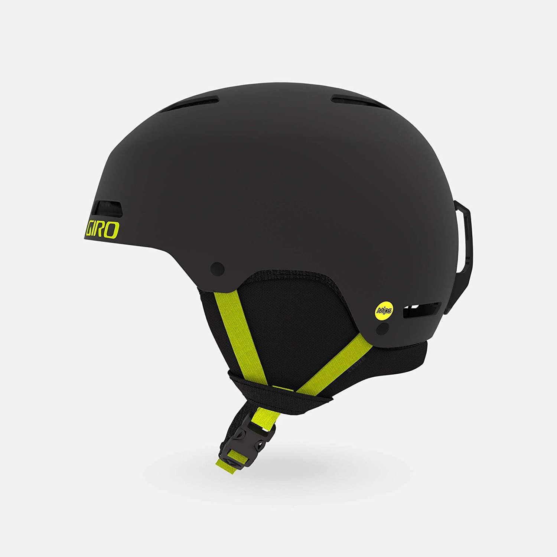 Giro Ledge FS MIPS Snow Helmet - Matte Warm Black/Citron - Size M (55.5–59cm) (2020)