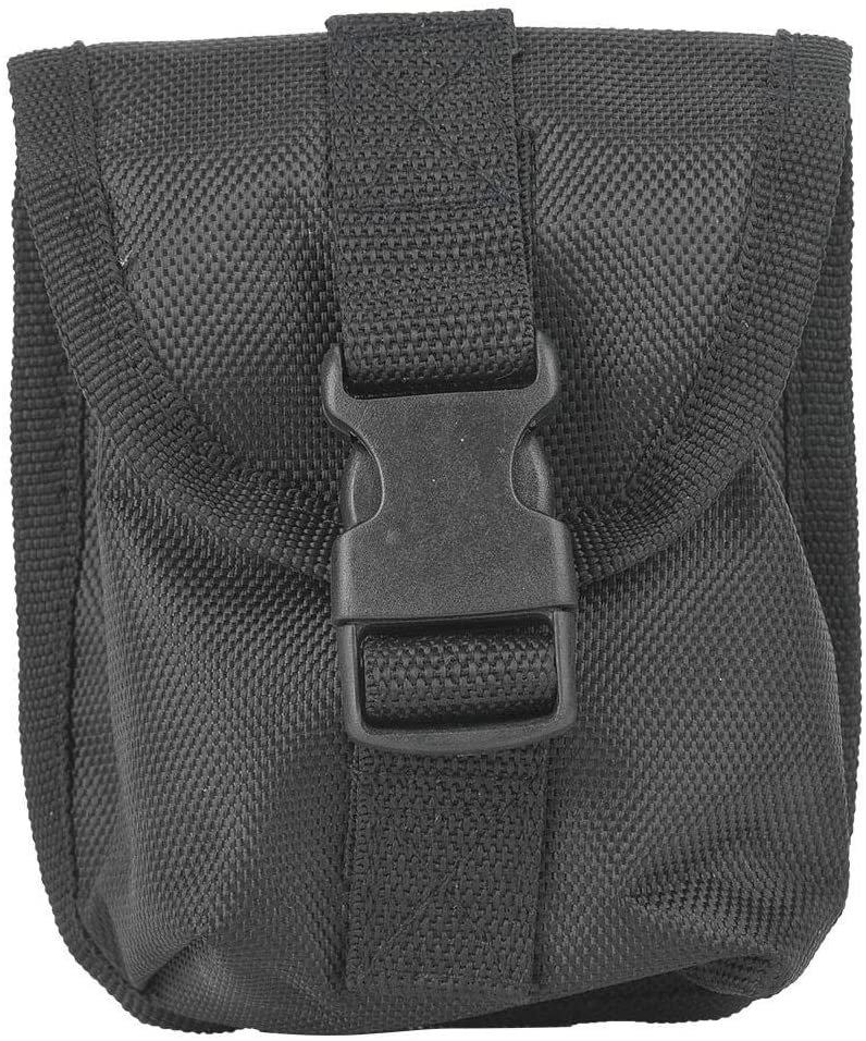 Diving Weight Pack Scuba Weight Pocket Oxford Cloth Scuba Diving Spare Weight Storage Bag Pocket with Quick Release Buckle Black