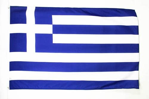 AZ FLAG Greece Flag 2' x 3' - Greek Flags 60 x 90 cm - Banner 2x3 ft