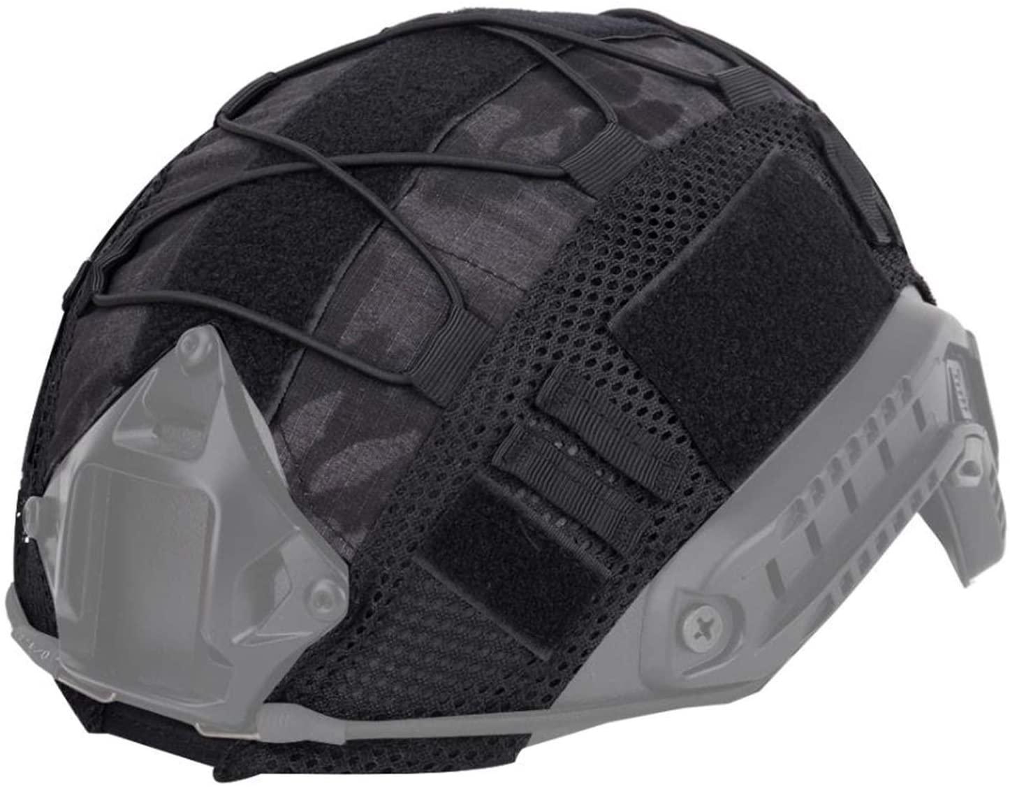 Jadedragon Multicam Camouflage Helmet Cover Army Tactical Series Airsoft Paintball Fast Helmet Cover-No Helmet