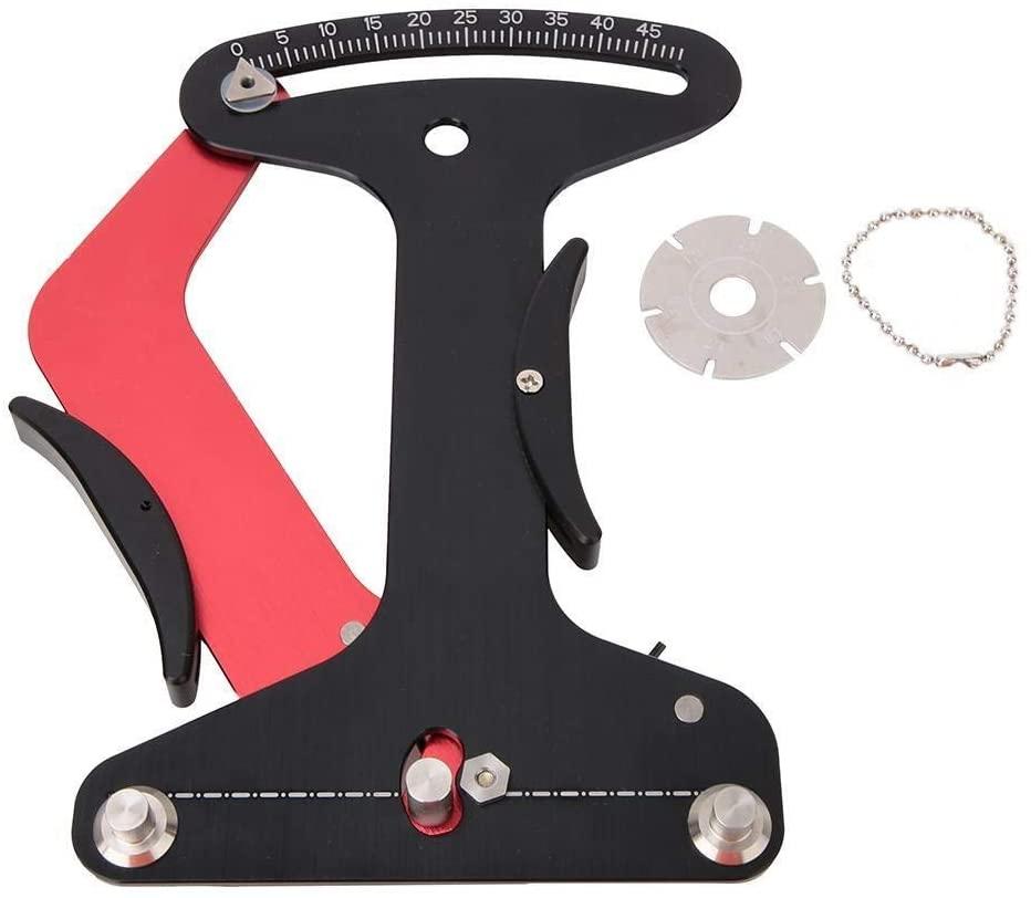 KSTE ZTTO Aluminum Alloy Bicycle Repair Tools Bike Spoke Tension Meter Measures for Truing Wheels