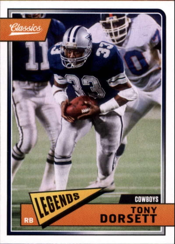 2018 Classics Football #120 Tony Dorsett Dallas Cowboys Legend Panini NFL Card