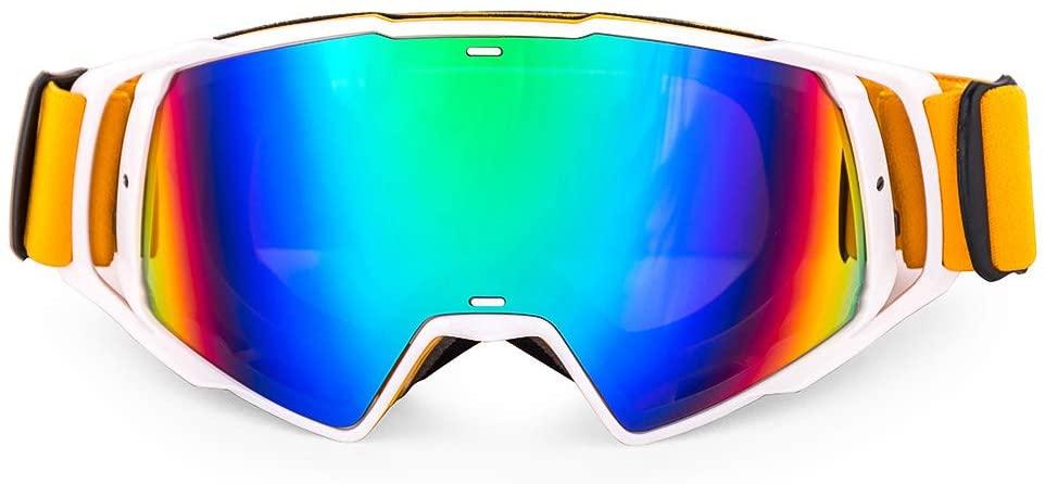 Nawenson Motorcycle Dirt Bike Racing Google Glasses MX Off Road Masque Helmets Goggles Ski Sport Gafas