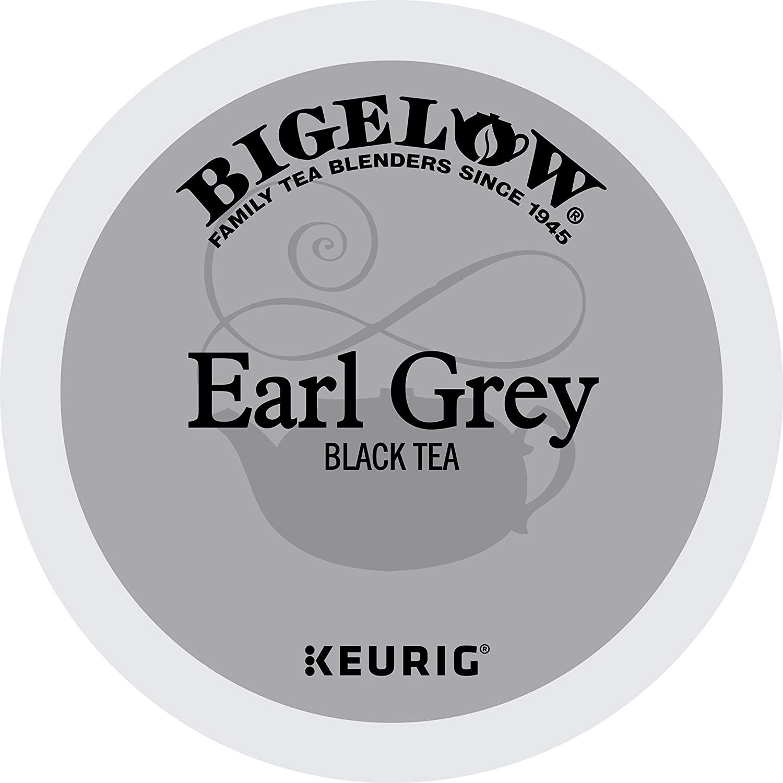 Bigelow Earl Grey Black Tea Keurig K-Cup Pods, Box of 12 Cups (Pack of 6), Caffeinated 72 K-Cup Pods Total