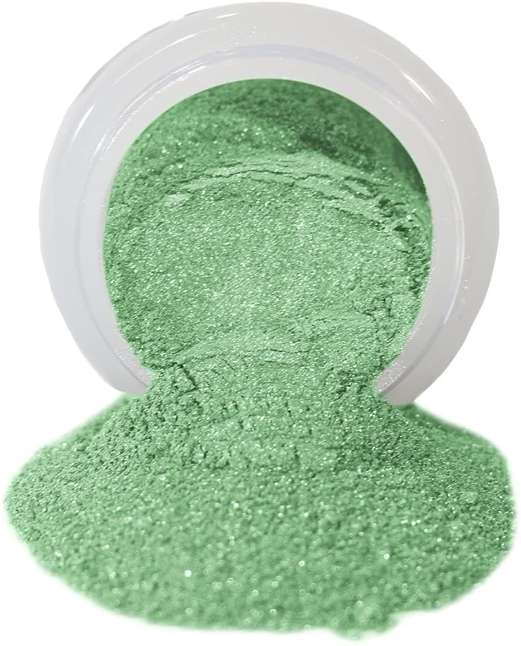 ColorPops by First Impressions Molds Pearl Green 16 Edible Powder Food Color For Cake Decorating, Baking, and Gumpaste Flowers 10 gr/vol single jar