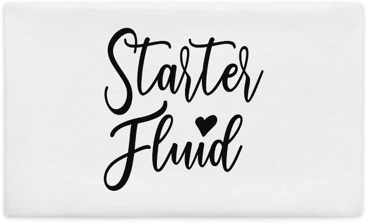 Starter Fluid All-Over Print Premium Pillow Case | Parenting Pillow | New Parent | Gift for Mom | Gift for Dad | Babysitter Pillow | Au Pair Gift | Mechanic Pillow | Gift for Mechanic | Car Mechanic