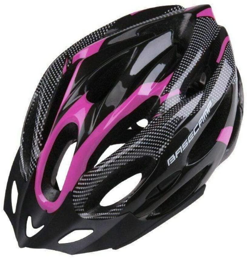 ZoeDul Bicycle Helmet Men Women Adjustable Road MTB Cycling Bike Sport Mountain Visor,Black Pink