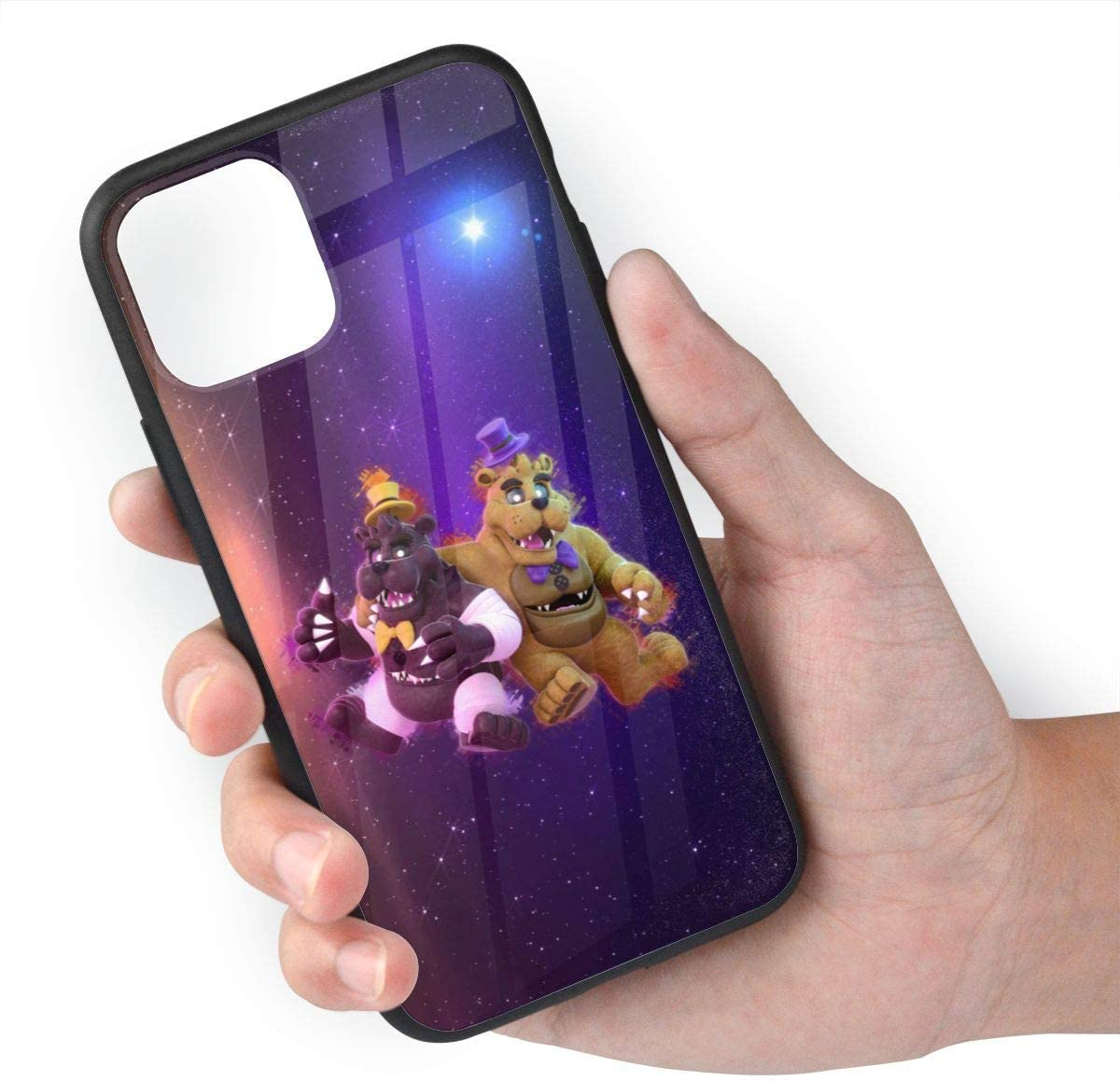 Five Nights at Freddy's Bear iPhone 11 Protective Case Soft and Flexible TPU Glass Ultra-Thin Shockproof Bumper Cover