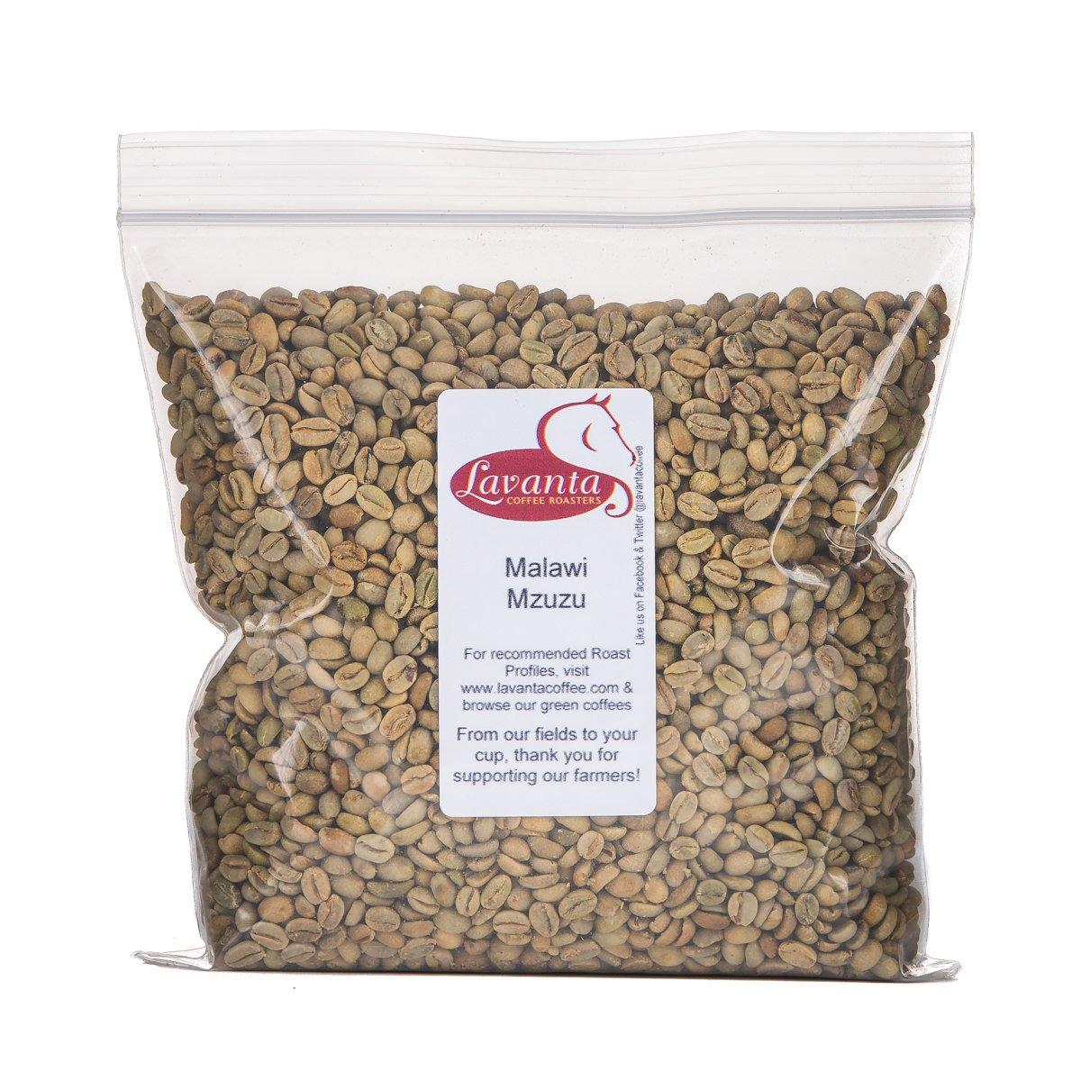 Lavanta Coffee Roasters Malawi Mzuzu Green Direct Trade Coffee, 2lb