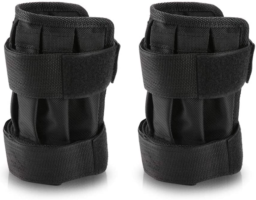 VGEBY1 Ankle Weighted, Leg Weight Training Belt Ankle Strap Weight Band Exercise Training Equipment with Pockets for Steel Plates