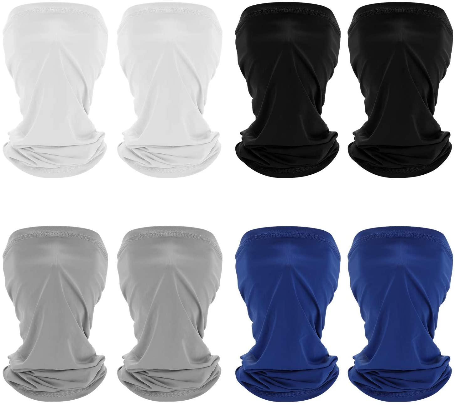 Sun UV Protection Face Bandana, Protection Neck Gaiter Mask, Magic Scarf Neck Gaiter, Balaclava Windproof Scarf Sunscreen Breathable for Men & Women