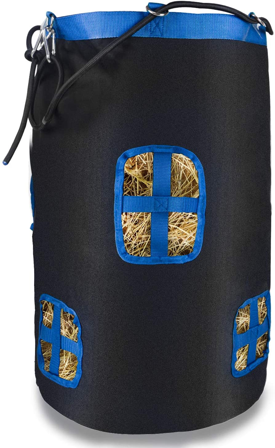 Yuar butee Round Hay Bag Hay Bale Storage Bag,Large Tote Hay Bale Carry Bag