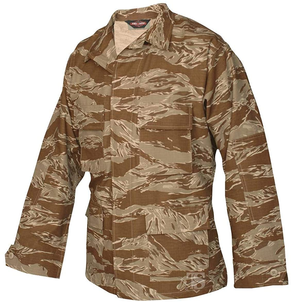 Tru-Spec BDU Coat Desert Tiger Stripe Mens Cotton ML